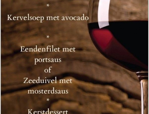 Kerstmenu 24 en 25 december